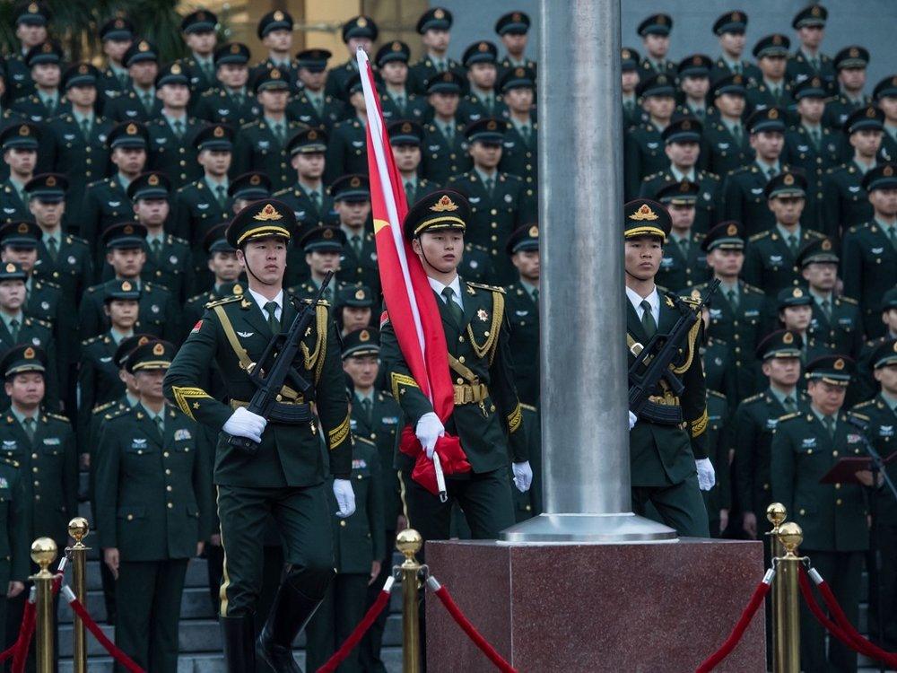 「自由之家」發表年度報告指出,中國正透過網路輸出獨裁政治。圖片來源:新華通訊社
