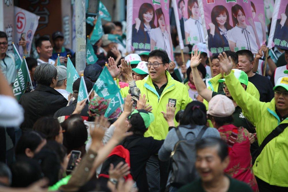 民進黨台北市長候選人姚文智支持柯辦總幹事小野「力挺陳其邁」的說法。圖片來源:姚文智/Facebook