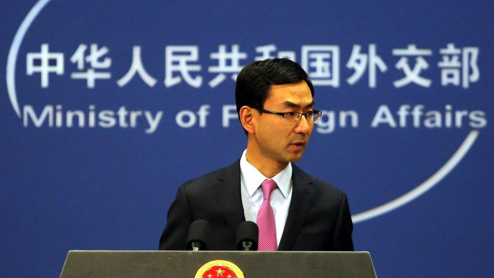 中國政府相當擔憂台灣東奧正名公投通過。圖片來源:中國環球電視網