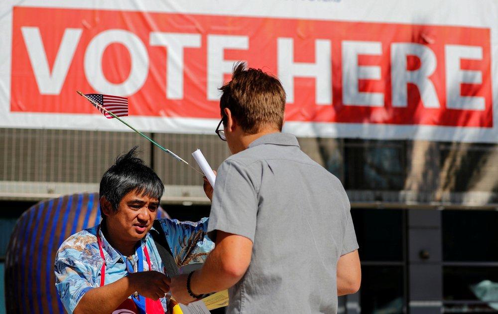 移民議題是這次選舉中的焦點之一。圖片來源:視覺中國