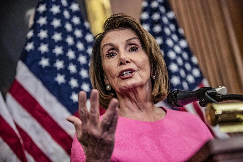 民主黨領袖佩洛西(Nancy Pelosi)被認為是最有可能擔任新眾議院議長。圖片來源:Associated Press