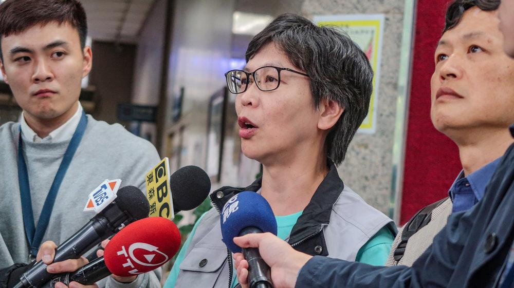 柯文哲親信今(17日)與台灣國辦公室主任陳峻涵見面。攝:周子愉/讀報