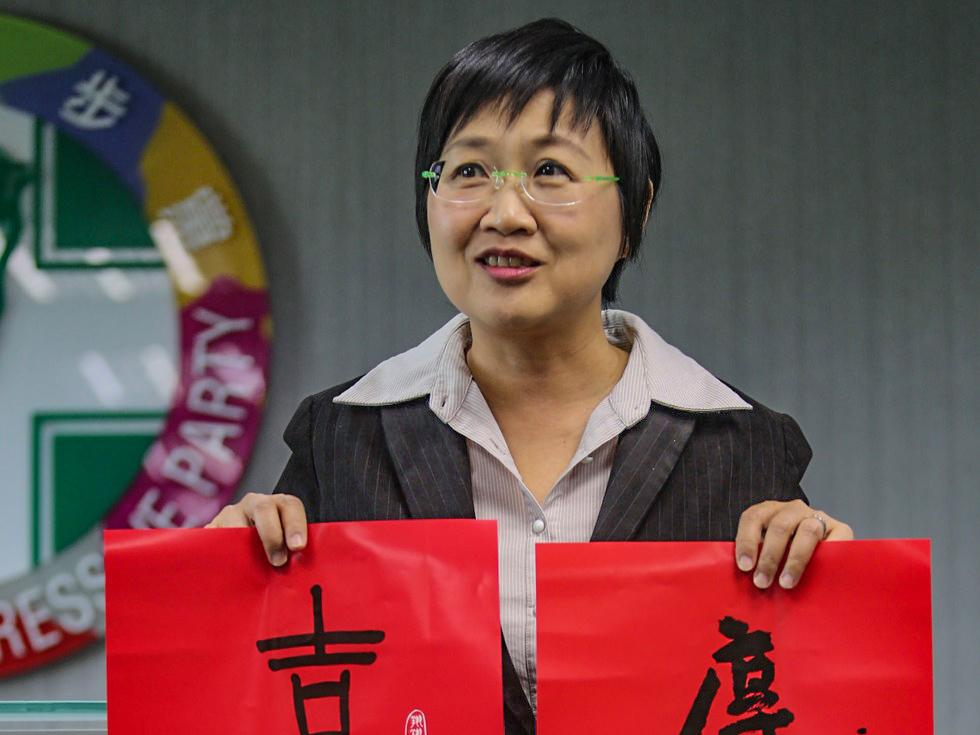 徐佳青面對陳水扁警告,當時以「病人認知有落差」回應。圖片來源:多維新聞