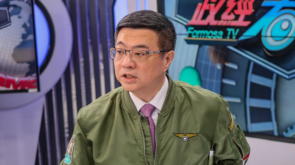 前行政院秘書長卓榮泰參選民進黨主席。攝:周子愉/讀報