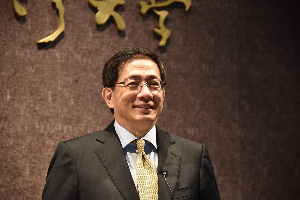 管中閔正式被教育部聘任為台大校長。圖片來源:國立台灣大學