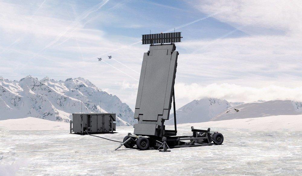 洛克馬丁公司TPY-X陸基防空監視雷達。圖片來源:Lockheed Martin