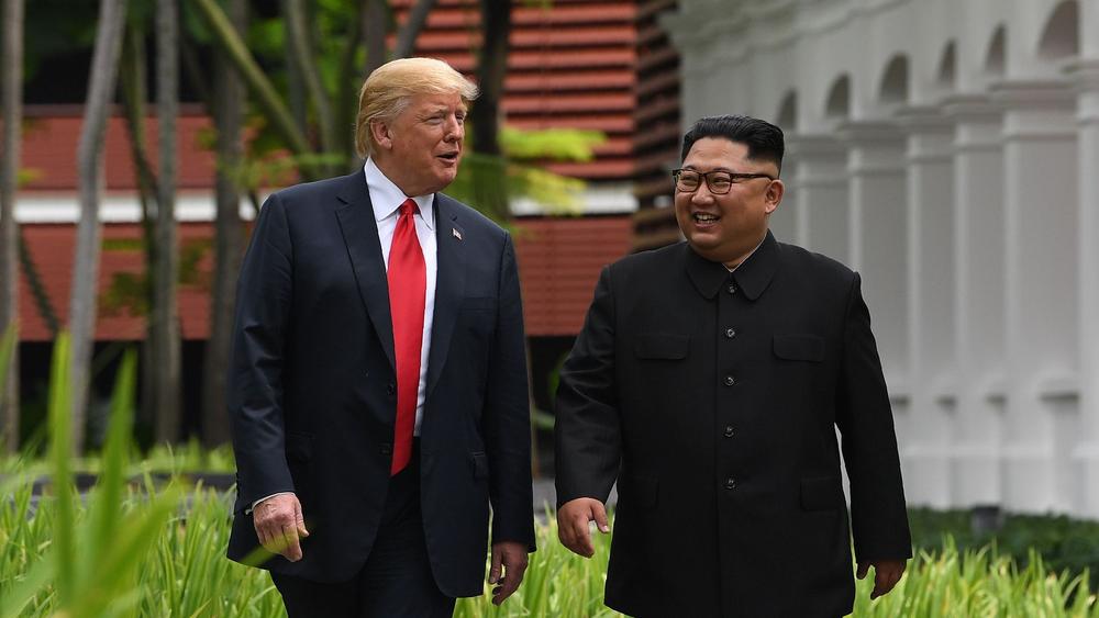 美國總統川普將與北韓領導人金正恩再次會面。圖片來源:中國環球電視網