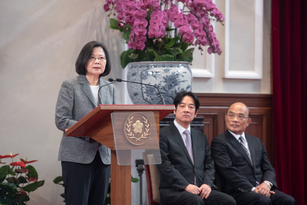 Photo: Joan Huang/Office of the President Republic of China(Taiwan)