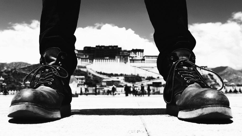 中國要貧困的西藏人,要在家裡的小型佛龕前,供奉披著白色哈達的毛澤東和習近平照片。攝:MZUOK/Pixabay
