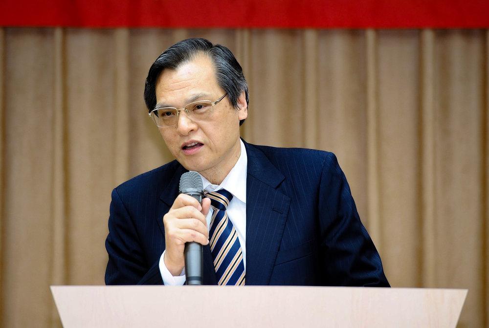 陸委會主委陳明通針對中國異議人士,頻頻將台灣作為跳板其他民主國家的工具一事表態。圖片來源:大陸委員會/Facbook