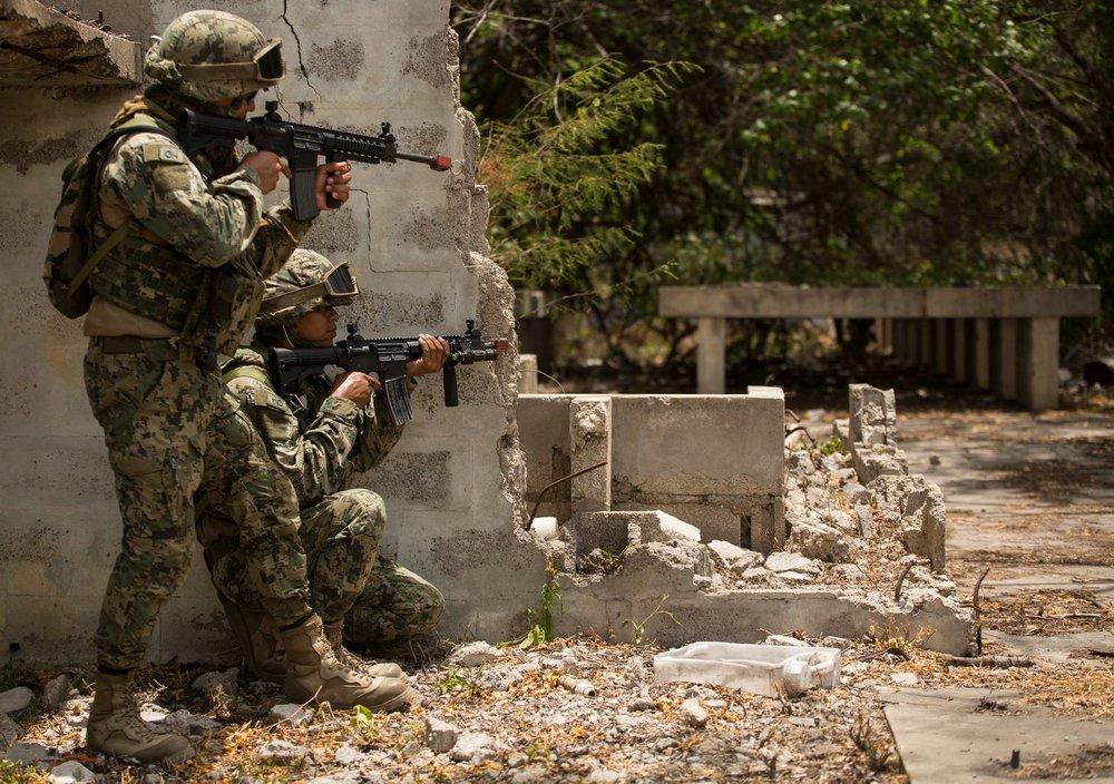 傳出美國將派兵至哥倫比亞與委內瑞拉邊界。圖片來源:U.S. Southern Command (SOUTHCOM)