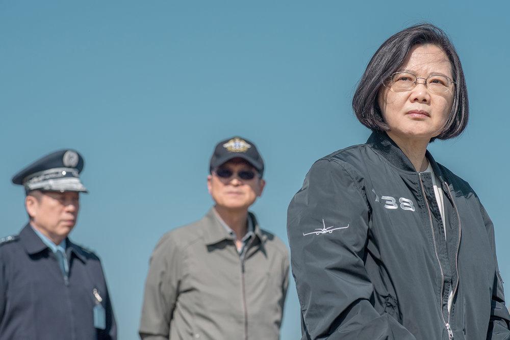 總統蔡英文近期言詞頻繁砲轟中國。圖片來源:中華民國總統府/Flickr