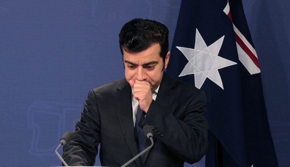 前澳洲議員鄧森過去因收受中國富商好處遭披露而下台。圖片來源:Australian Associated Press