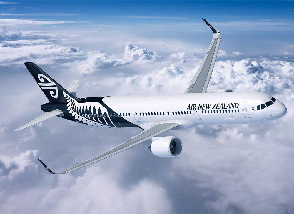紐西蘭航空遭中國政府拒絕降落。圖片來源:Airbus