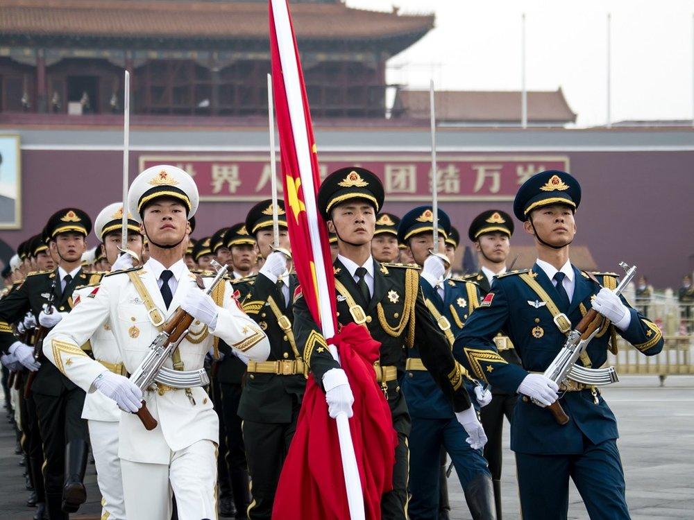 解放軍東部戰區、南部戰區將「民為軍用」納入軍事作戰系統,目的是為了「擁軍支前」。圖片來源:視覺中國