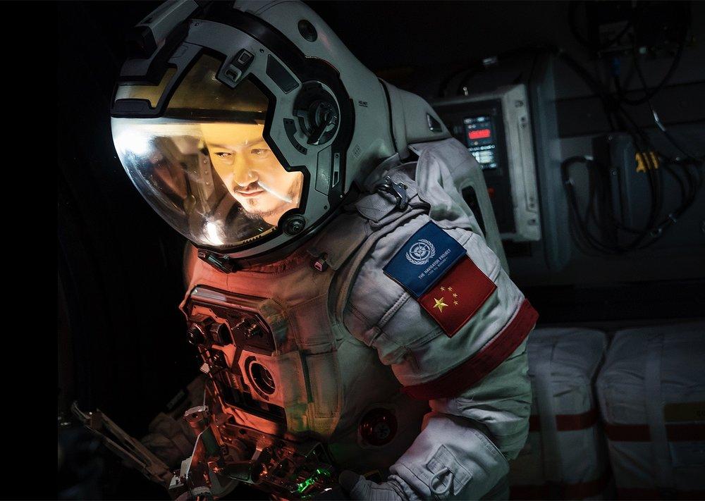 《流浪地球》是農曆春節中國境內票房最高的電影。圖片來源:視覺中國