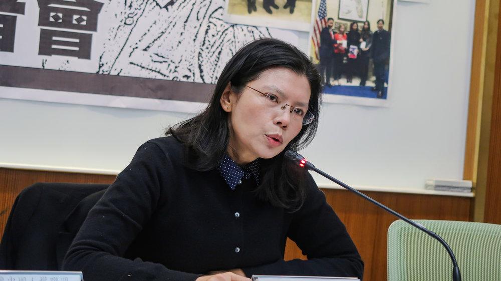 李凈瑜成為首位參與美國總統國情咨文的台灣人。攝:周子愉/讀報