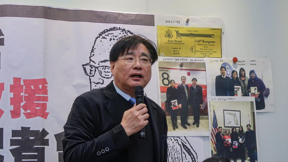 楊憲宏爆料,歐巴馬政府時期的美國國務院,禁止他們將合照流出。攝:周子愉/讀報