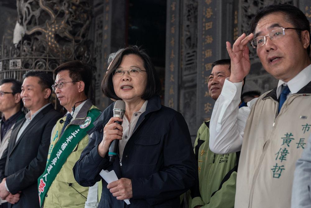 筆者認為,蔡英文的網路聲量正在上漲。圖片來源:中華民國總統府/Flickr