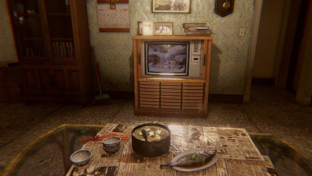 《還願》遊戲的場景設定在一座公寓內,裡頭分割成不同的時空。圖片來源:Steam