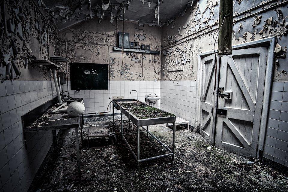 劍橋軍醫院。攝:Chaos Urbex