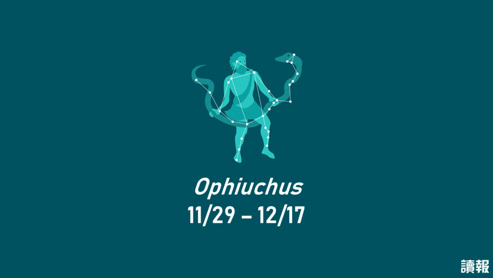 1月29日至12月17日出生的朋友,將成為蛇夫座。製圖:美術組