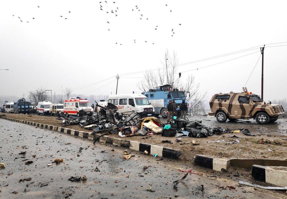 印度與巴基斯坦雙方交火,瀕臨開戰邊緣。攝:Younis Khaliq/Reuters