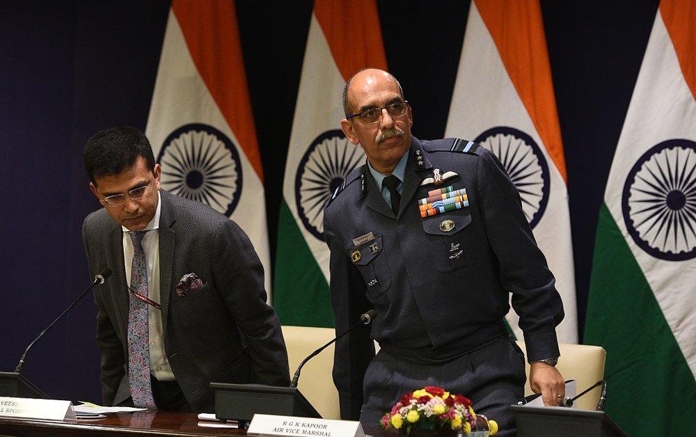 印度方面聲稱,它們失去一架米格-21戰鬥機。圖片來源:視覺中國