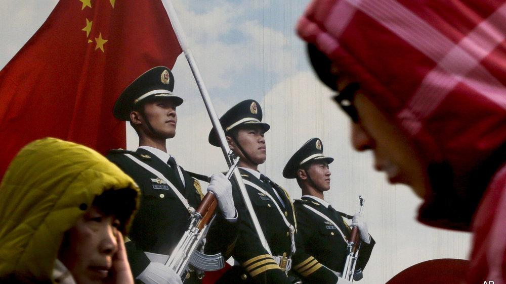 中國頻頻放話透過武力統一台灣。攝:Andy Wong/Associated Press