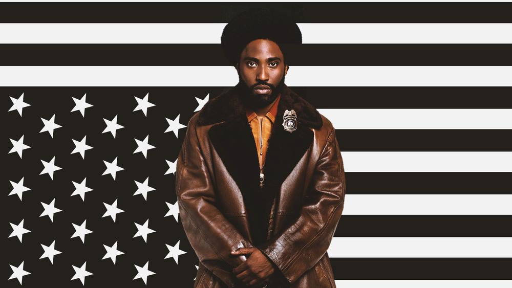 《黑色黨徒》是一部2018年美國犯罪喜劇片,故事敘述科羅拉多州科羅拉多泉的一名非裔美國警探滲透了三K黨的地方分會,並最終成為該會的負責人。圖片來源:《黑色黨徒》