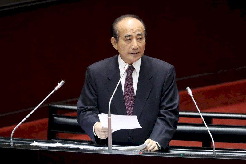 前立法院長王金平宣布投入2020總統大選。圖片來源:中央通訊社
