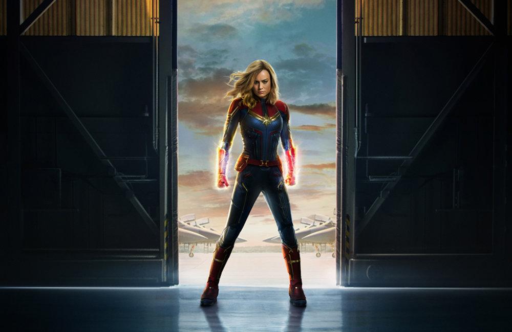 《驚奇隊長》是一部剛上映的美國超級英雄電影,劇情改編自漫威漫畫角色卡蘿·丹佛斯。圖片來源:《驚奇隊長》