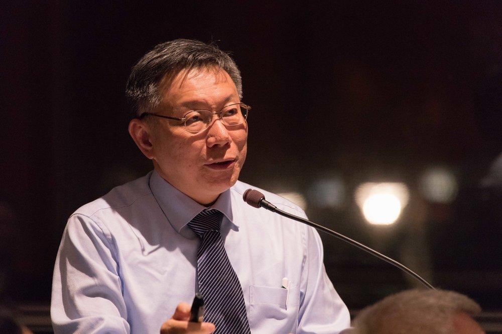 台僑團體發出聲明,強調不接待將赴美參訪的台北市長柯文哲。圖片提供:台北市政府