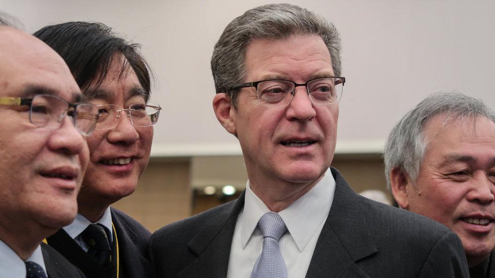 美國布朗巴克大使訪問台灣。攝:周子愉/讀報
