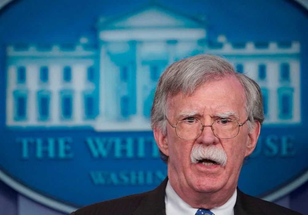 美國國安顧問波頓警告北韓,美國一直都在關注北韓的動向,且目不轉睛的盯著。攝:Mandel Ngan/Getty Images
