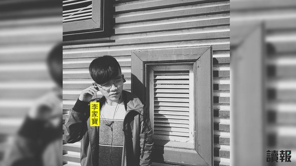 中國交換生李家寶在台灣開直播,痛罵中國國家主席習近平。攝:孫仲達/中央通訊社