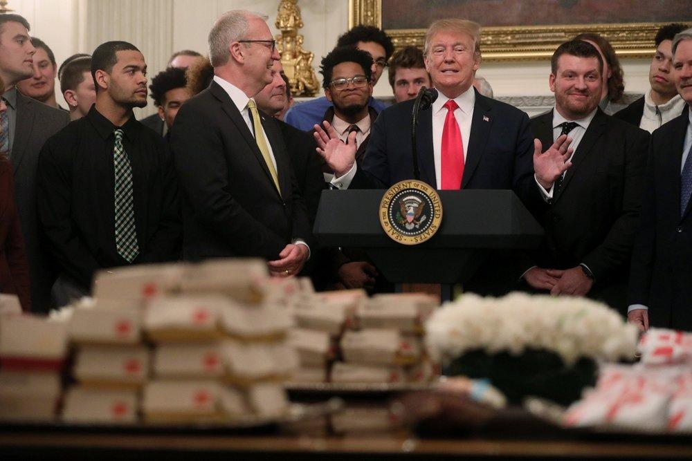 美國總統川普表示,他並不急於和中國簽署貿易協定,協定若不好,他不會簽。圖片來源:Reuters
