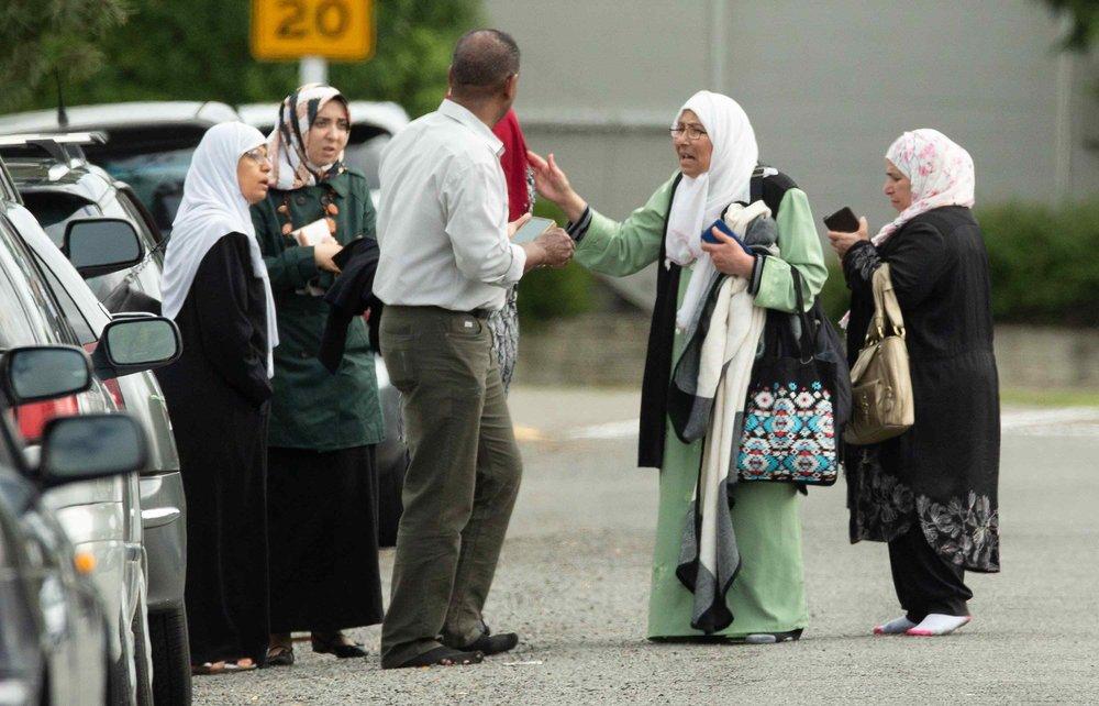 紐西蘭基督城遭到恐怖份子襲擊。圖片來源:中國環球電視網