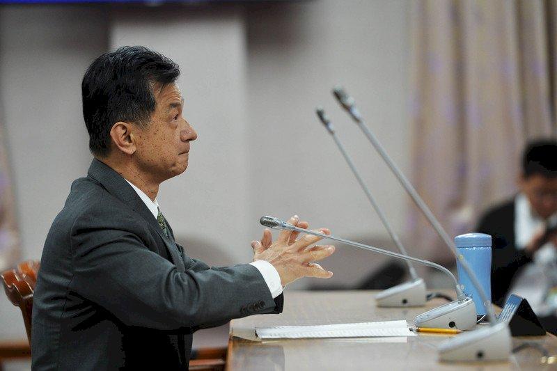 前法務部長邱太三遭爆涉及關說。圖片來源:中央通訊社
