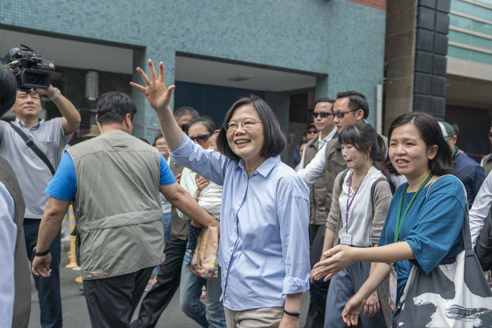 筆者認為,「英派」在賴清德宣布參加初選後,開始號召黨內志同道合者籌組「英」雄聯盟。圖片來源:中華民國總統府/Flickr