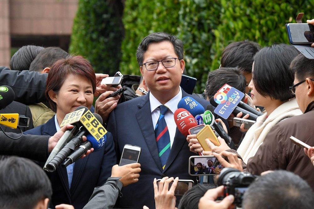 桃園市長鄭文燦是現任民進黨當然中執委。圖片來源:鄭文燦/Facebook