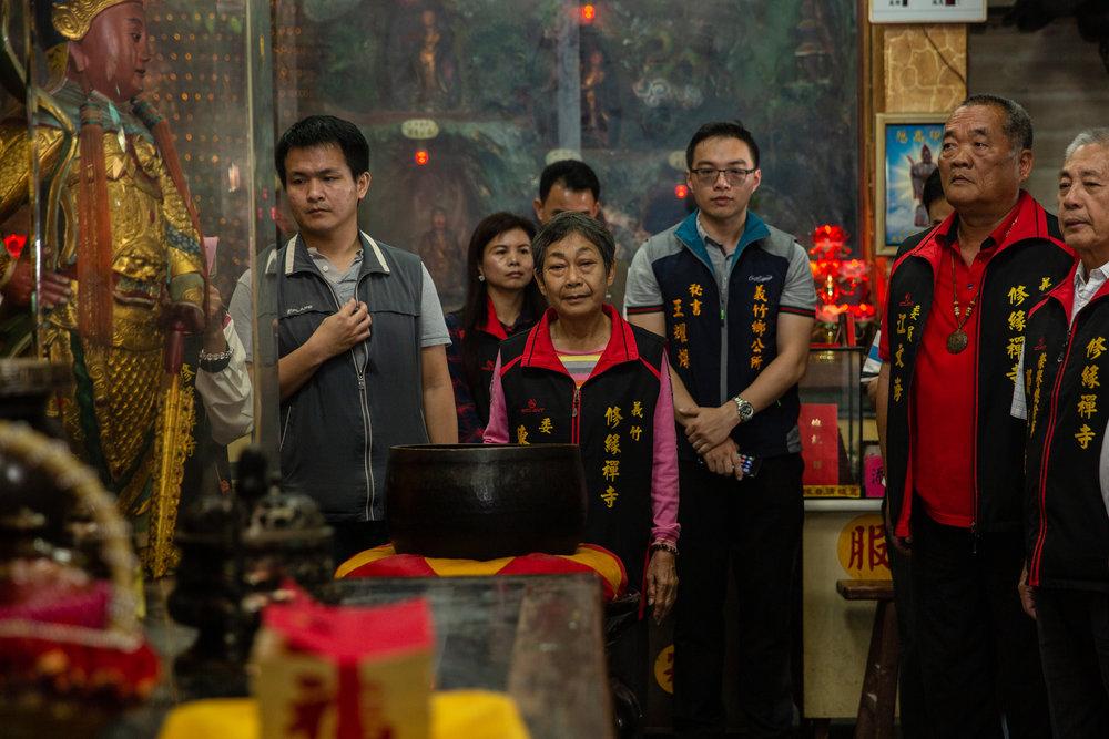 筆者認為,美國有深層政府,台灣則有宮廟政府在背後主導。圖片來源:中華民國總統府/Flickr
