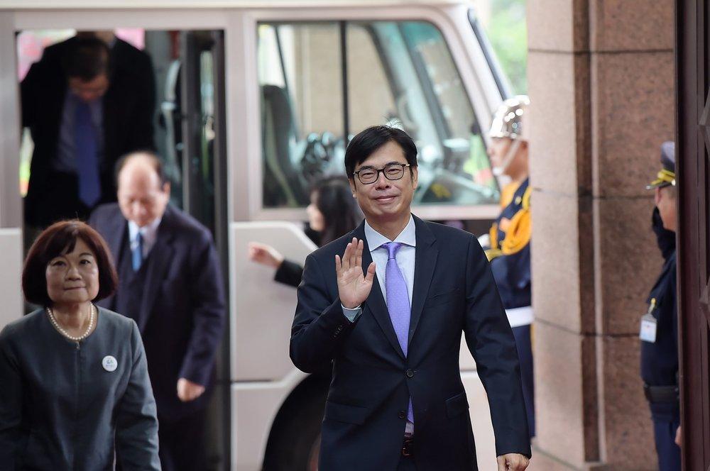傳出陳其邁在10日的中常會上怒吼,「回去怎麼交代」。圖片來源:陳其邁/Facebook