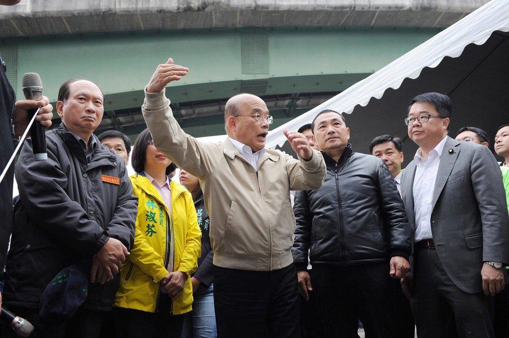 蘇貞昌怒嗆中國來台的「武統人士」李毅,「舉動如同恐怖份子,驅逐出境也是剛好而已」。圖片來源:中華民國行政院/Facebook