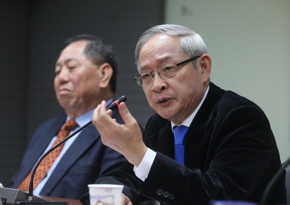 前國民黨立委林郁方表示,蔡英文要遵守《台灣關係法》這個美國法很奇怪。圖片來源:中央通訊社