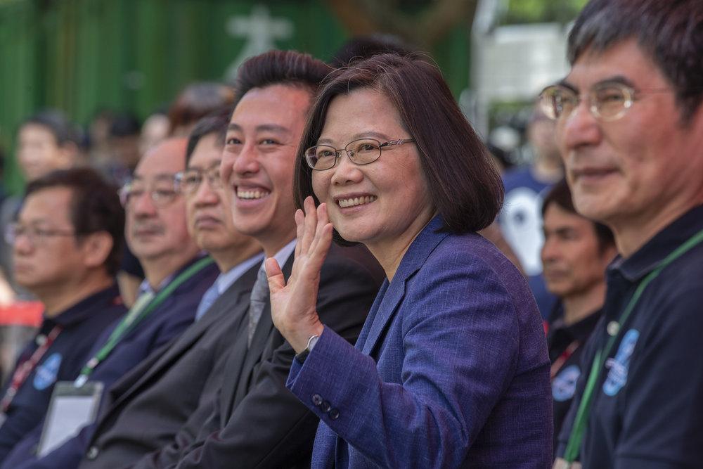 總統蔡英文回嗆賴清德,要領導國家,誠信是最基本條件。圖片來源:中華民國總統府/Flickr