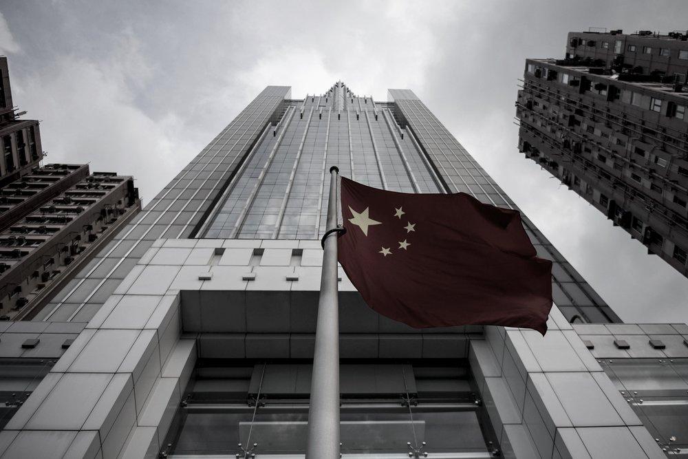 香港中聯辦坦承,基於國家安全,「一國兩制」沒有「兩制」。攝:Alex Ogle/Getty Images