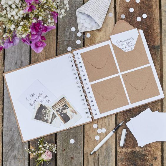 6 Ways to Make Your Wedding Guest Book Next Level \u2014 eeobrienstyle