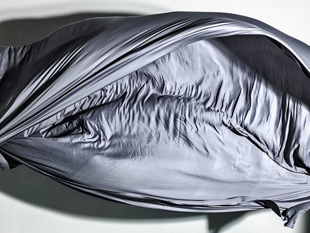Nikos Pantazopoulos,  to unfurl I , Pigment print,2017, 80 x 180 cm.