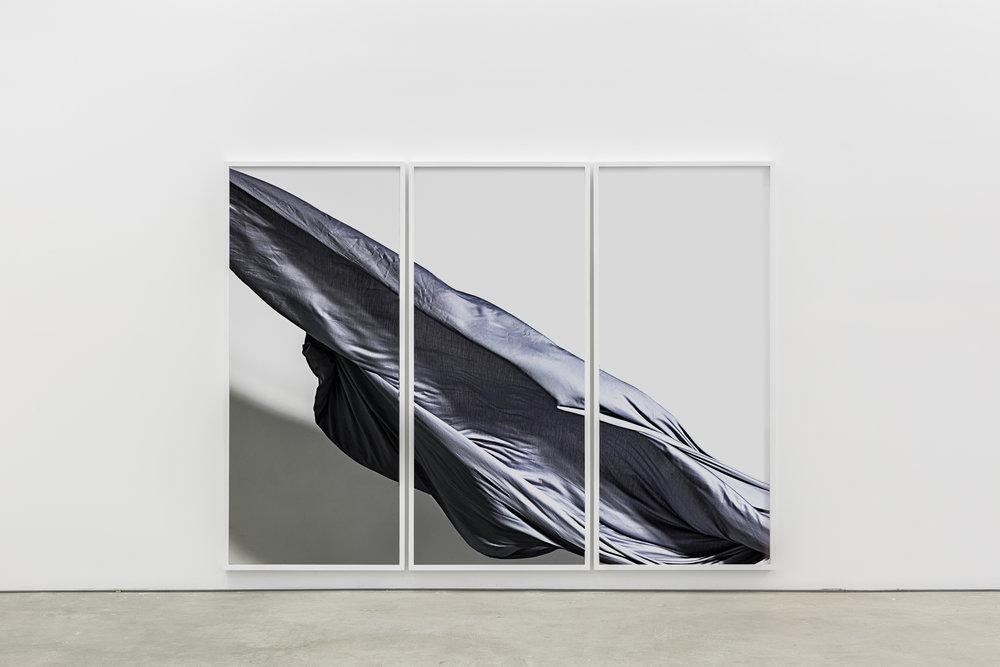 Nik Pantazopoulos, to unfurl IV (A6007550) / Various materials / 180 cm height x 80 cm x 3, width 6 cm depth 3 cm / 2017